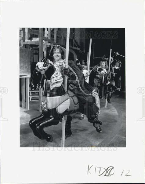 Press Photo Alexandre Dumas The Three Musketeers Timothy Altmeyer Matthew Loney - Historic Images