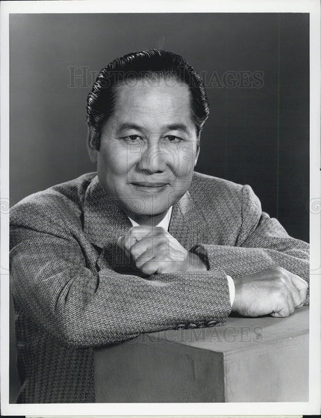 "1972 Press Photo ""Anna and the King"" Keye Luke - Historic Images"