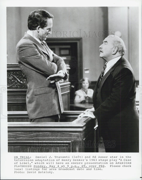 "1968 Press Photo ""A Case of Libel"" Television Premiere - Historic Images"