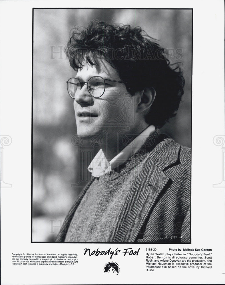 "1994 Press Photo of Actor Dylan Walsh as Peter in ""Nobody's Fool"". - Historic Images"
