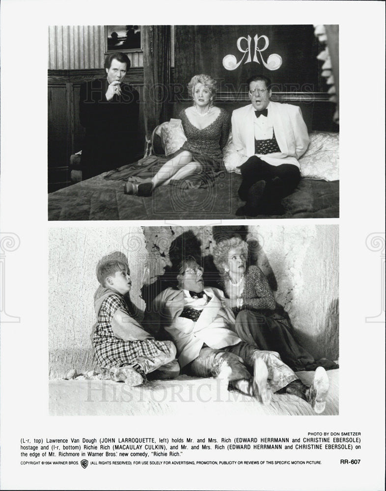 "1994 Press Photo  Macaulay Culkin in ""Richie Rich"" - Historic Images"
