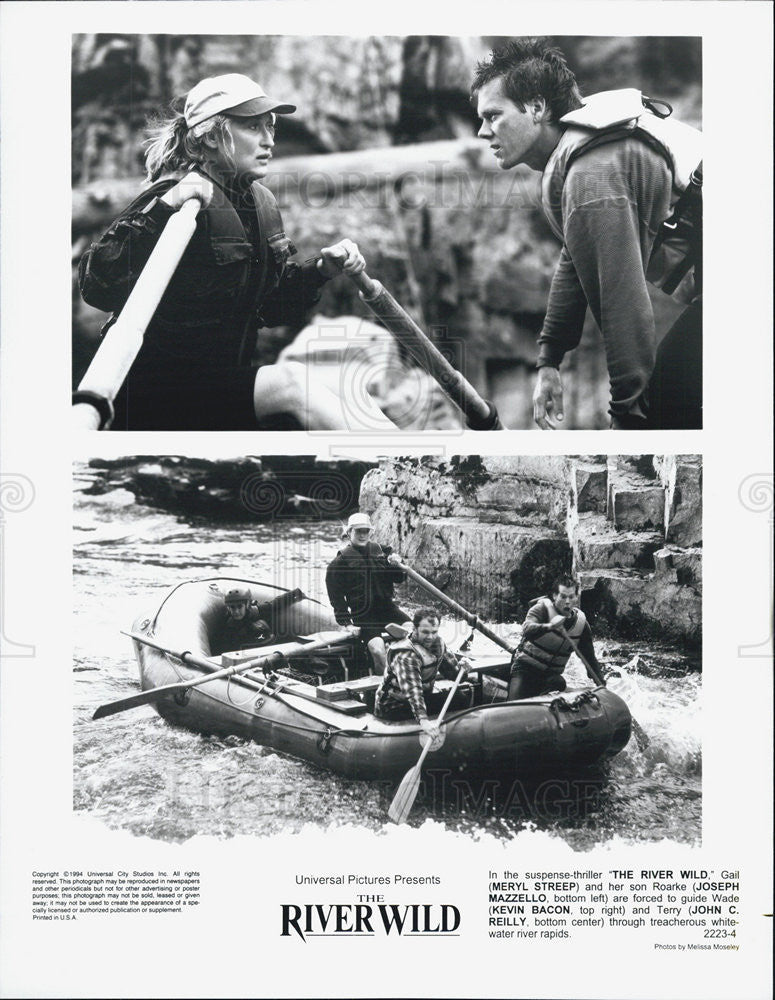 "1994 Press Photo Scenes From ""The River Wild"" - Historic Images"