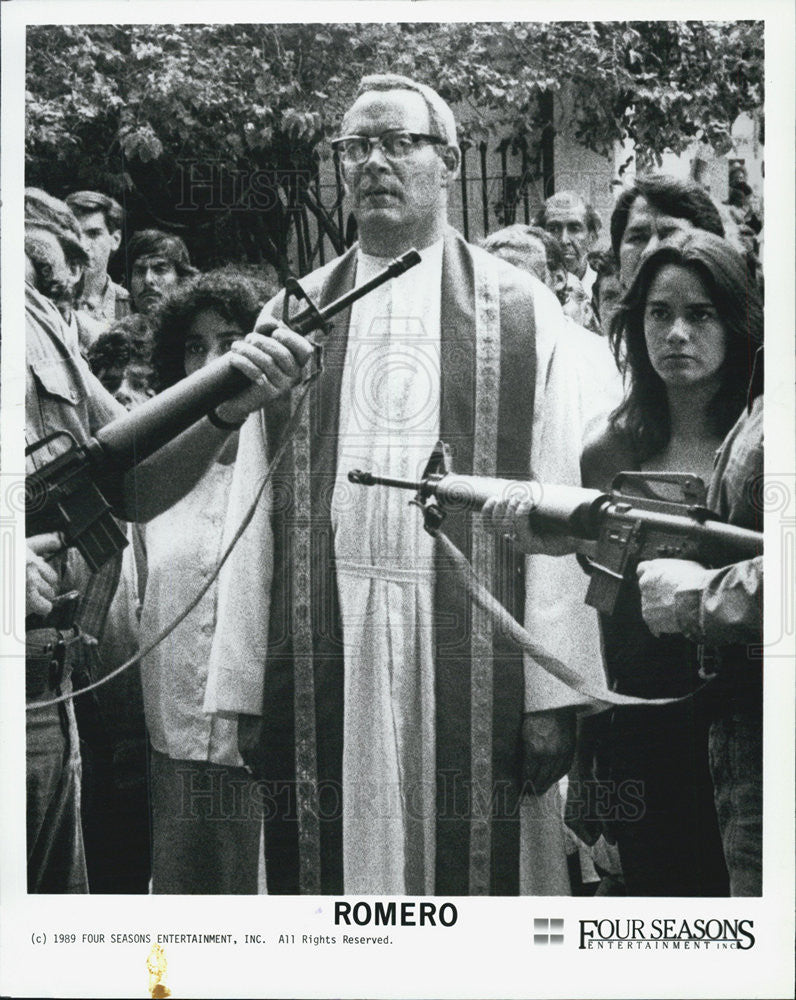 "1989 Press Photo ""Romero"" - Historic Images"