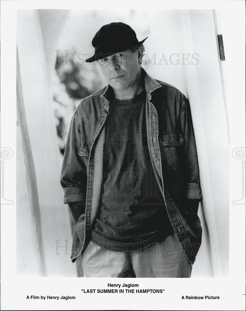 Press Photo Henry Jaglom LAST SUMMER IN THE HAMPTONS - Historic Images