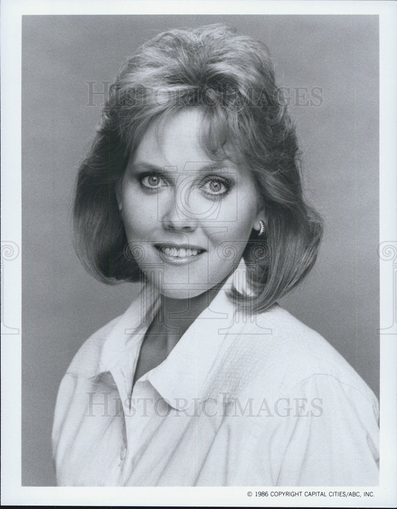 "1986 Press Photo Ann Dusenberry on ""Life With Lucy"" - Historic Images"