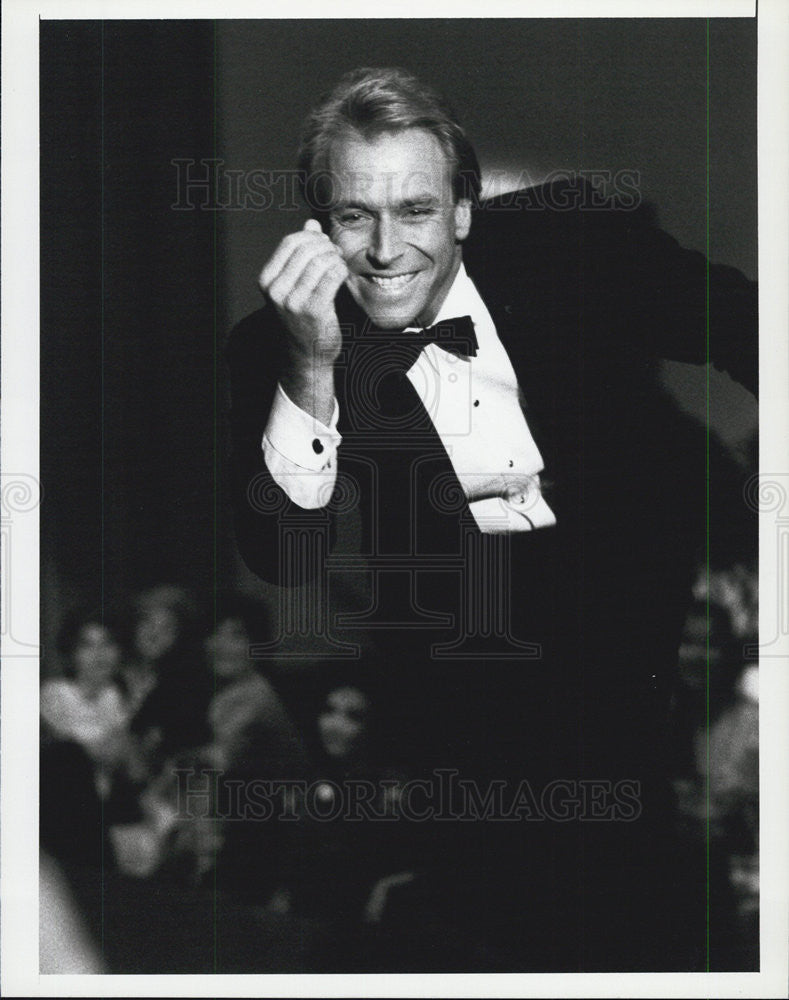 1987 Press Photo Corbin Bensen Actor The Wizard of Odds L.A. Law - Historic Images