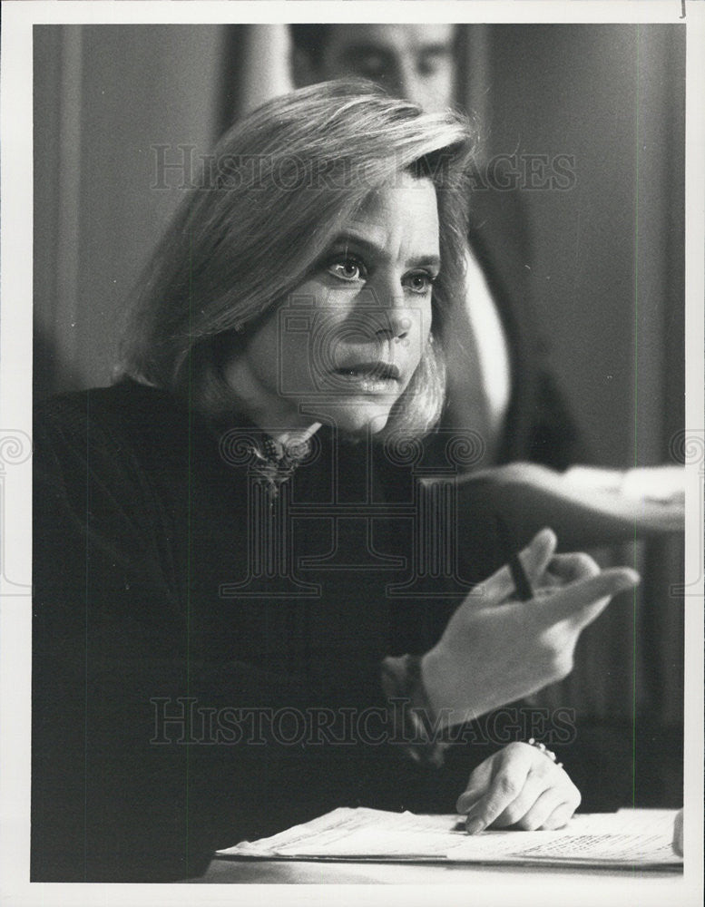 1990 Press Photo L.A. Law On Your Honor Susan Dey - Historic Images