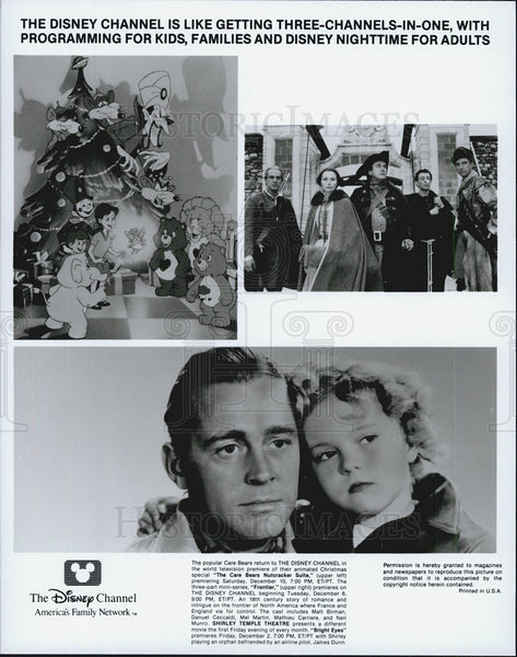 "1934 Press Photo ""The Care Bears Nutcracker Suite"" & ""Bright Eyes"" ShirleyTemple - Historic Images"