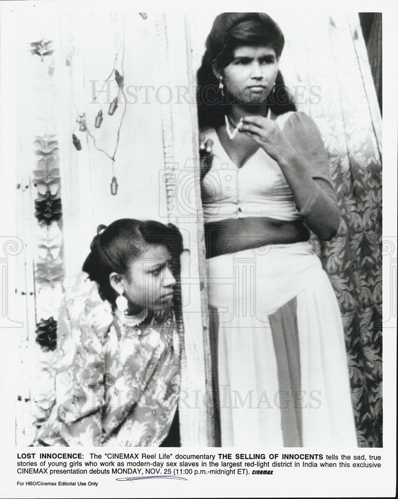 Press Photo Documentary The Selling of Innocents modern day sex trade India - Historic Images