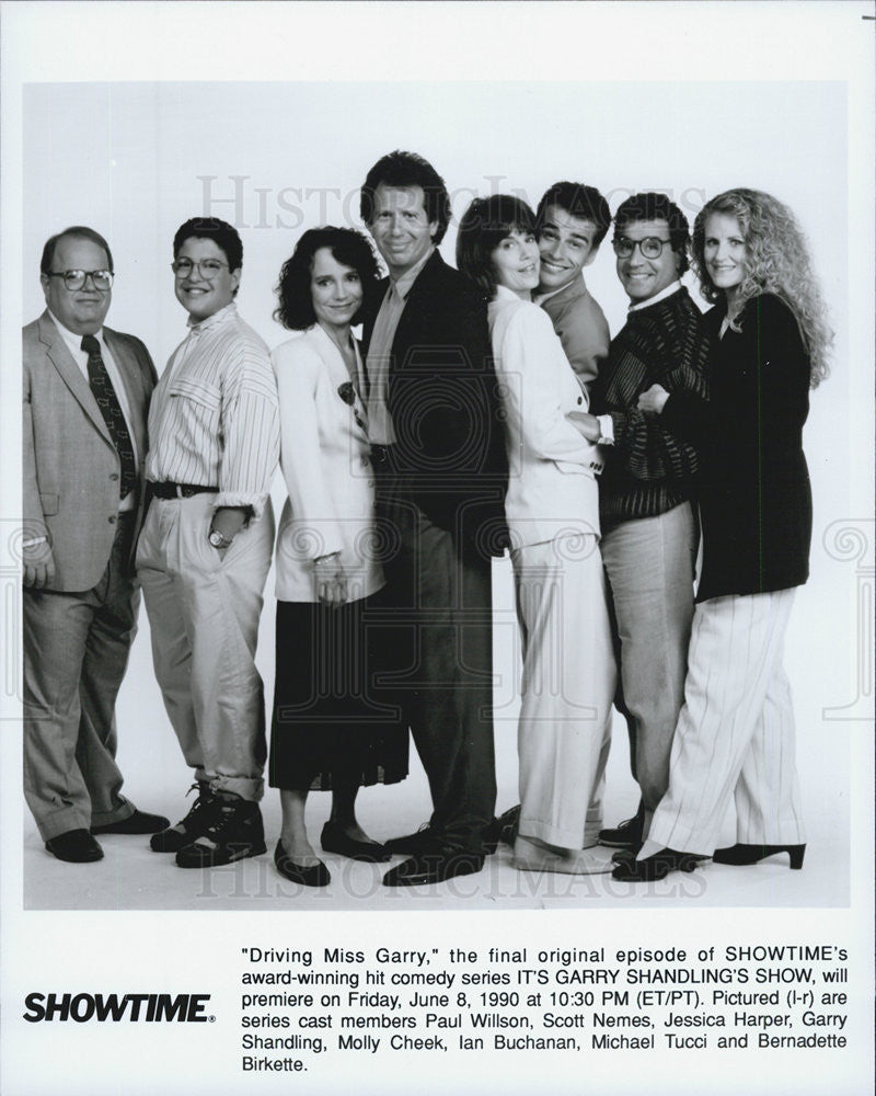 "1990 Press Photo Cast of ""Driving Miss Garry"" - Historic Images"