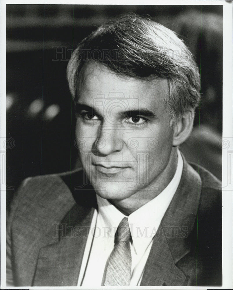 "Press Photo Steve Martin Executive Producer of ""George Burns Comedy Week"" - Historic Images"