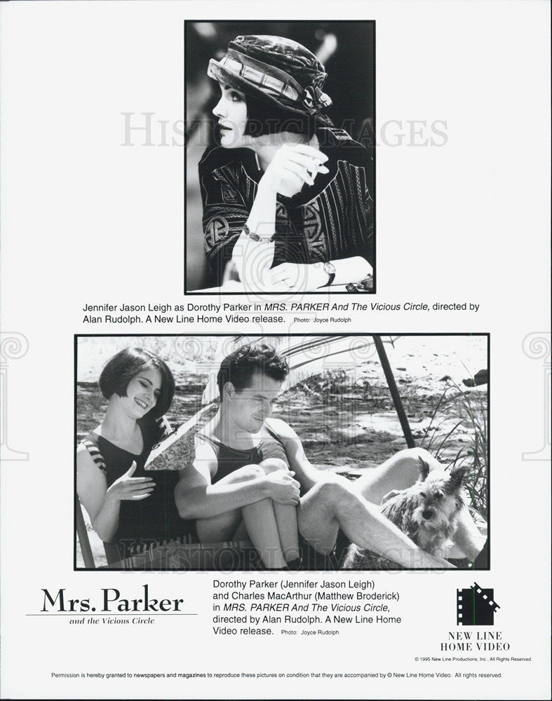 Press Photo Jennifer Jason Leigh mrs. Parker and the Vicious Circle Matthew - Historic Images