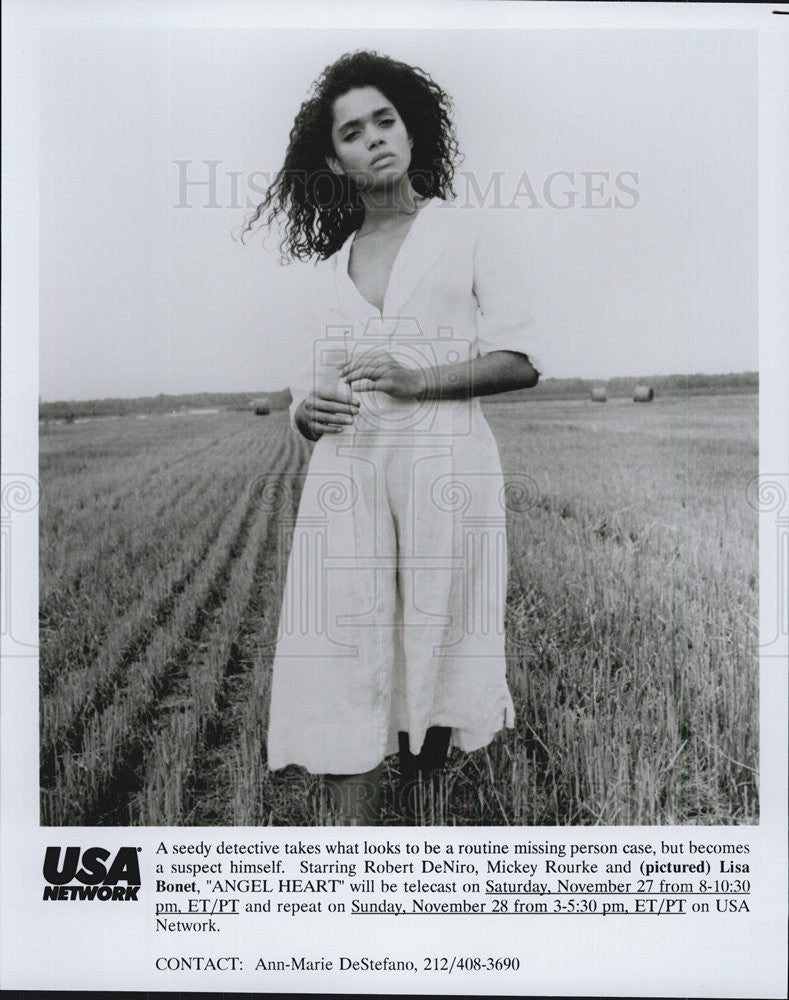 "1986 Press Photo Lisa Bonet in ""Angel Heart"" - Historic Images"