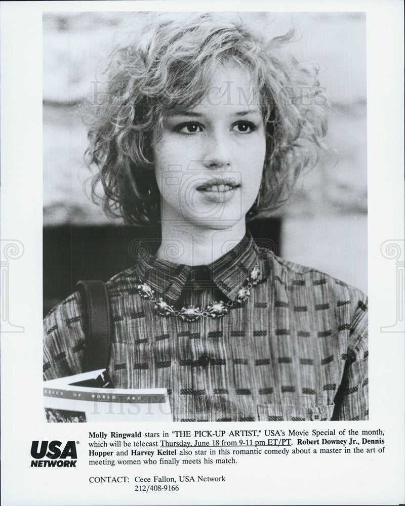 "Press Photo Molly Ringwald in ""The Pick-Up Artist"" - Historic Images"