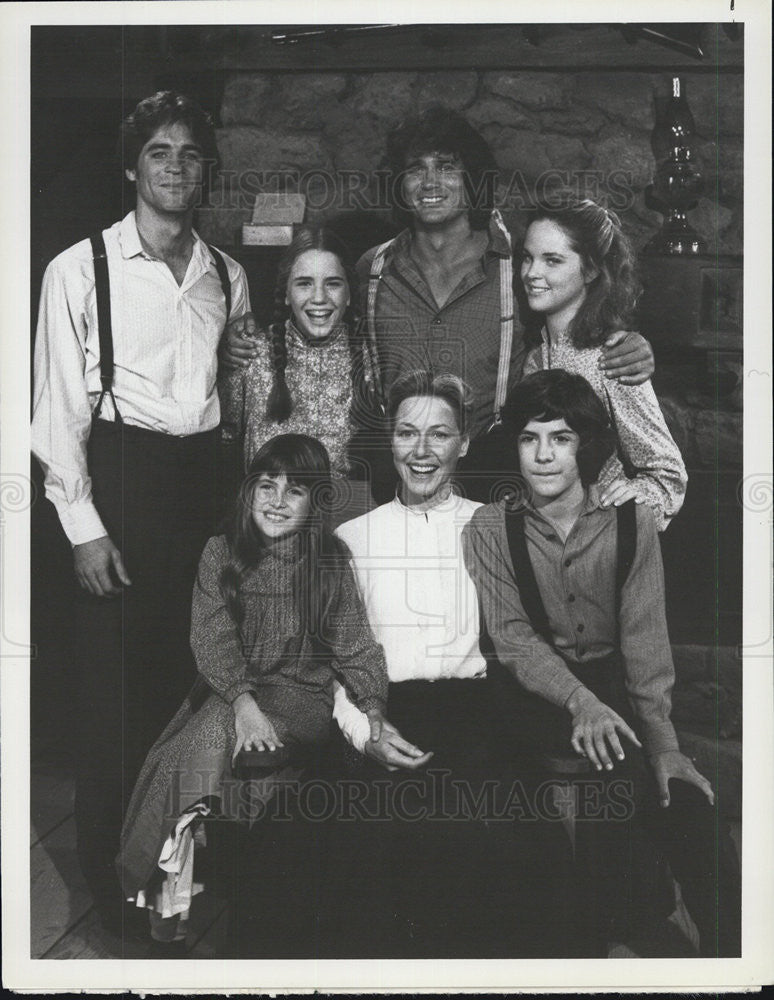 "1979 Press Photo stars of NBC's ""The Little House Years"" - Historic Images"