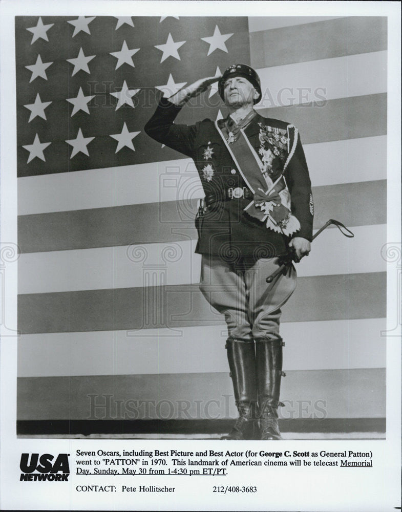 "1970 Press Photo  George C. Scott in ""Patton"" - Historic Images"