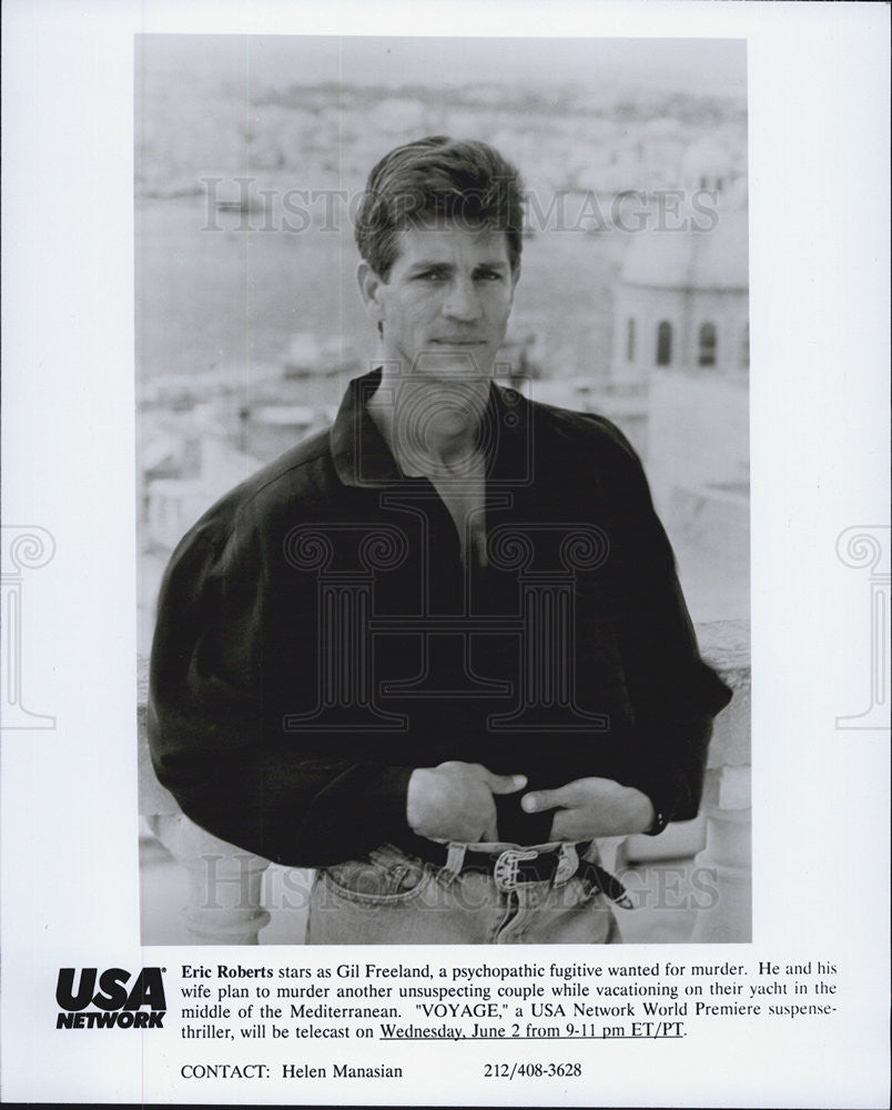 Press Photo Eric Roberts, Voyage - Historic Images