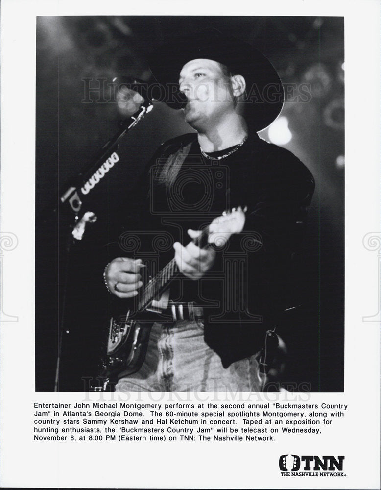 Press Photo Entertainer John Michael Montgomery - Historic Images