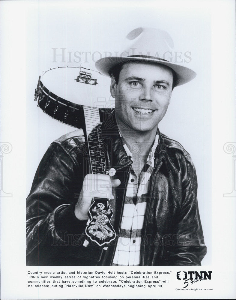 Press Photo Musician David Holt - Historic Images