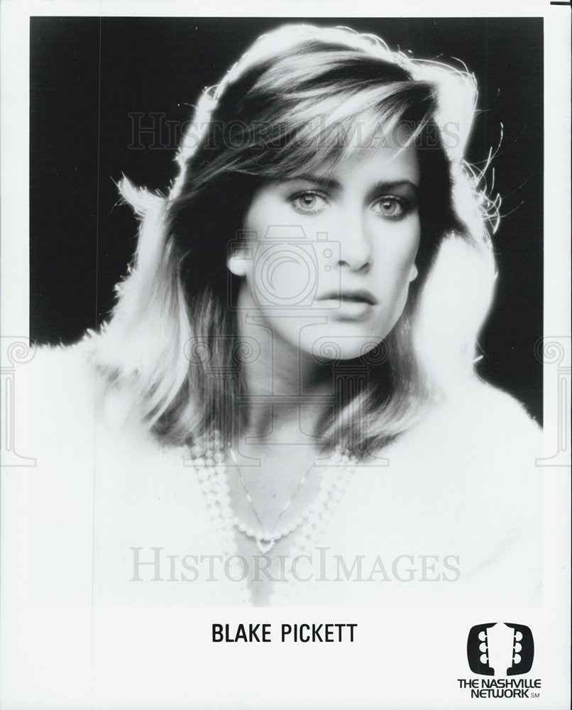 Press Photo Blake Picket - Historic Images