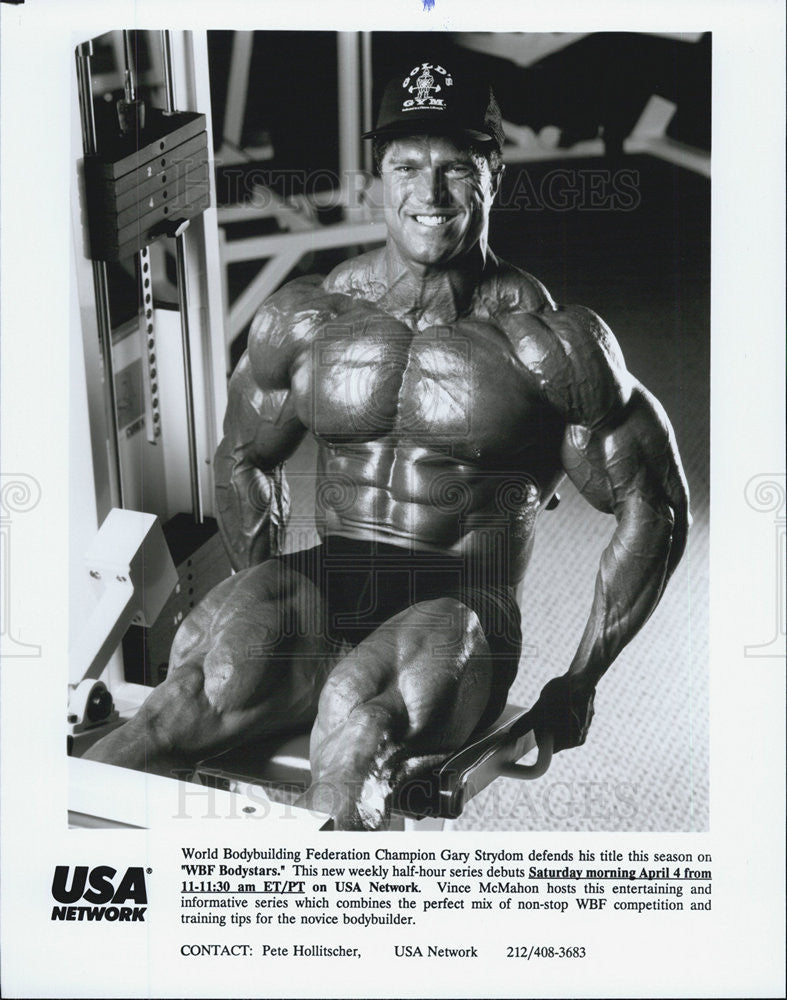 "1992 Press Photo ""WBF Bodystars."" on USA. Gary Strydom. - Historic Images"