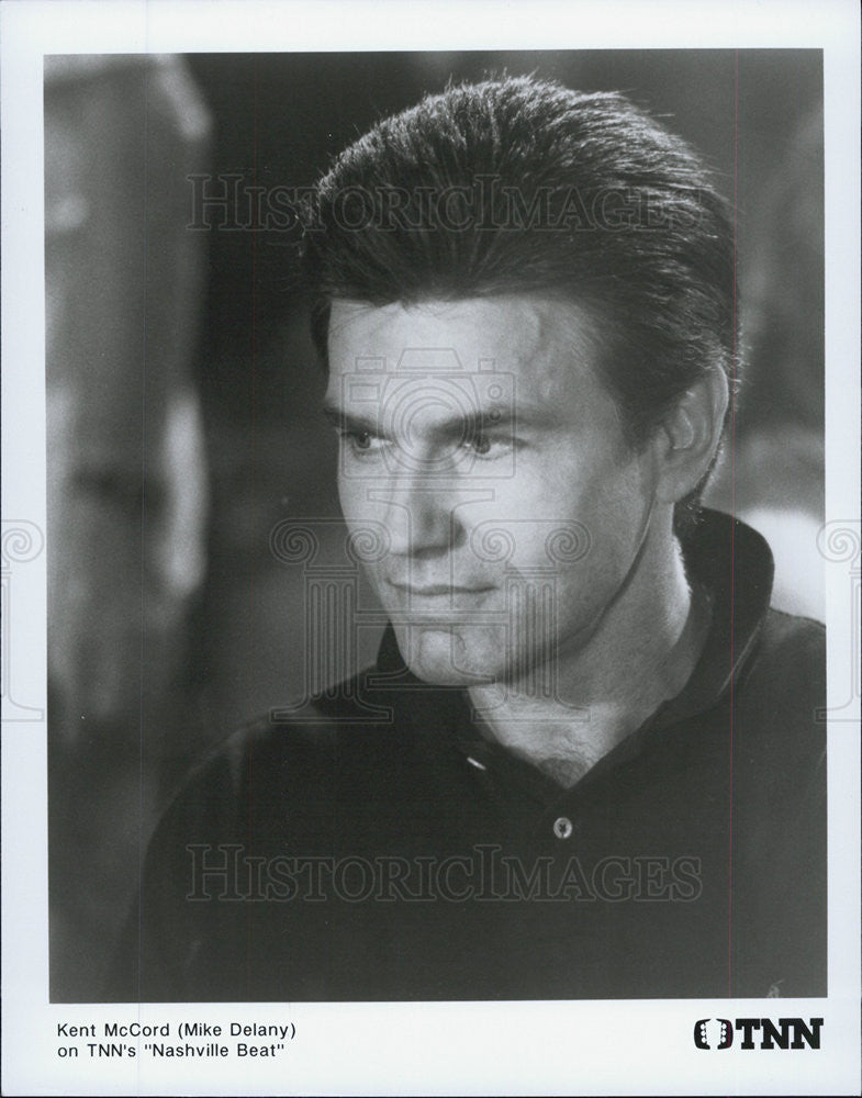 Press Photo Kent McCord, Nashville Beat - Historic Images