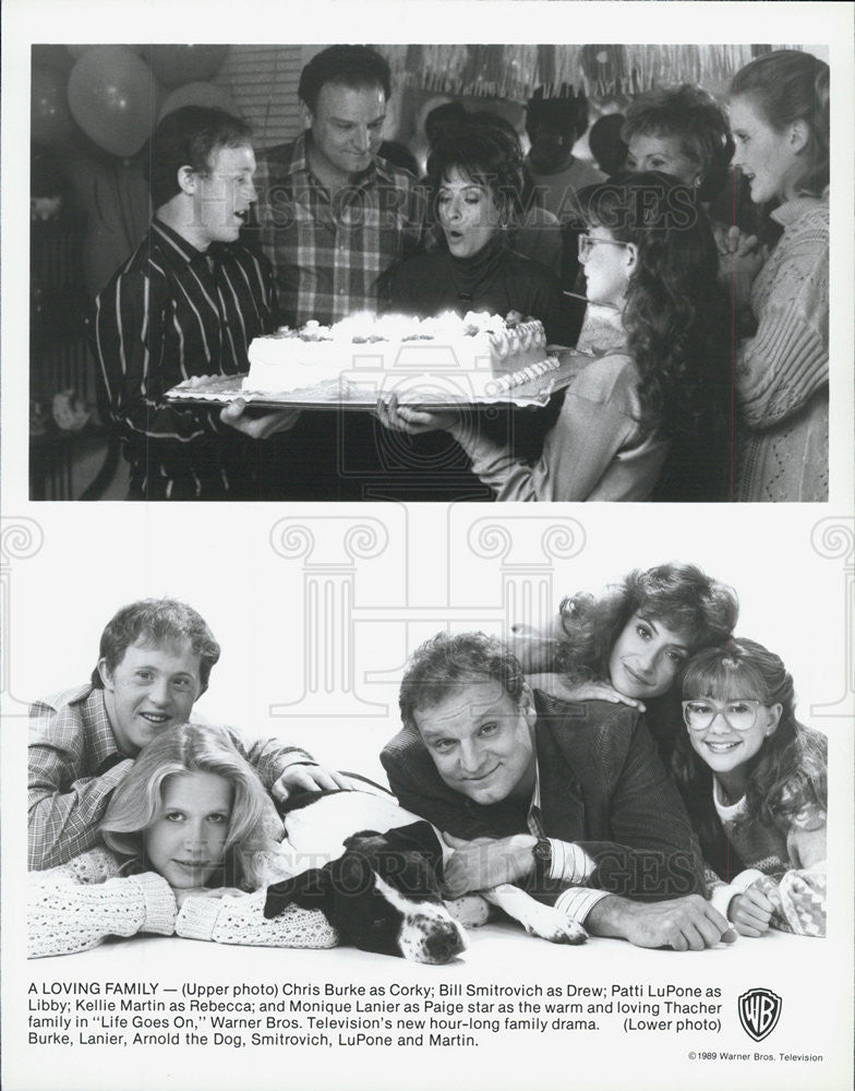 "1989 Press Photo of scenes from the TV series ""Life Goes On"" - Historic Images"