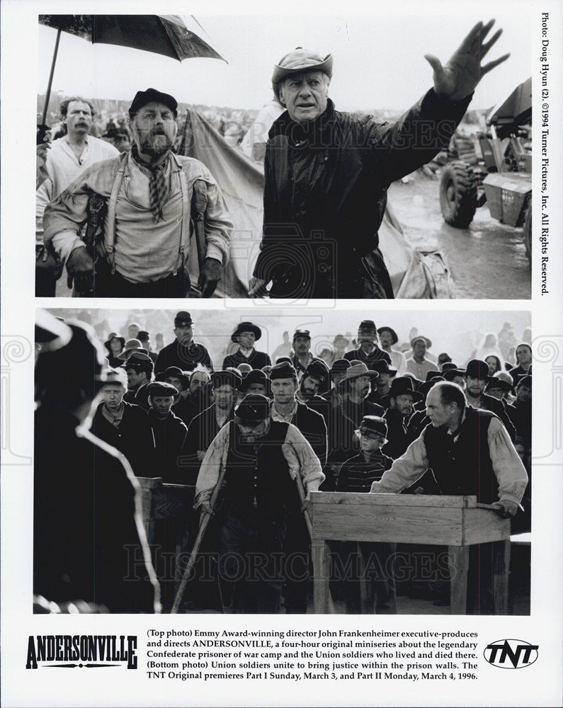 1994 Press Photo John Frankenheimer Director Andersonville - Historic Images