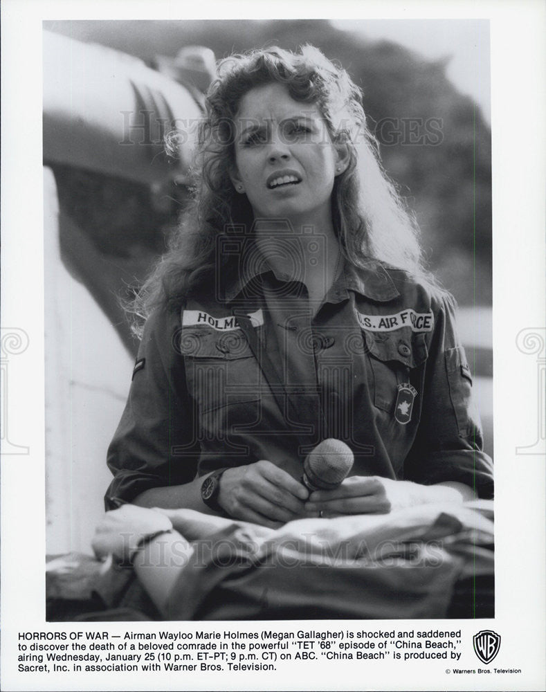 Press Photo Megan Gallagher CHINA BEACH - Historic Images