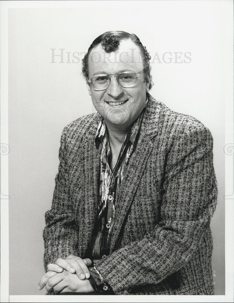 1987 Press Photo Actor Peter Jurasik - Historic Images