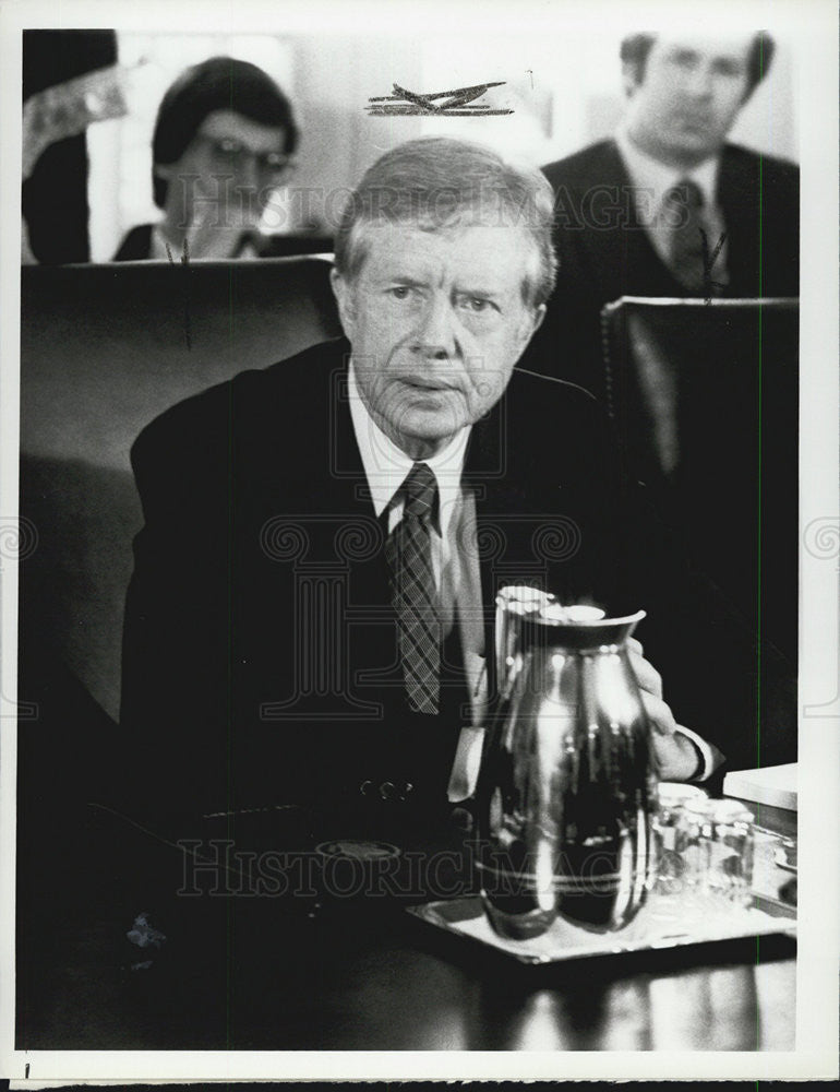 Press Photo President Jimmy Carter in The American Presidency TV show - Historic Images