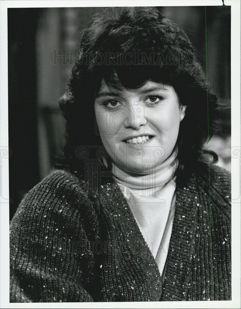 1986 Press Photo Rosie O'Donnell Gimme A Break television show guest star - Historic Images