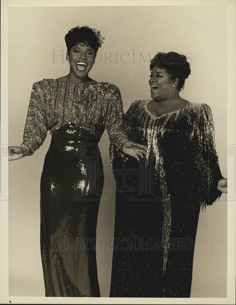 "1986 Press Photo Nell Carter in ""Gimme a Break"" - Historic Images"