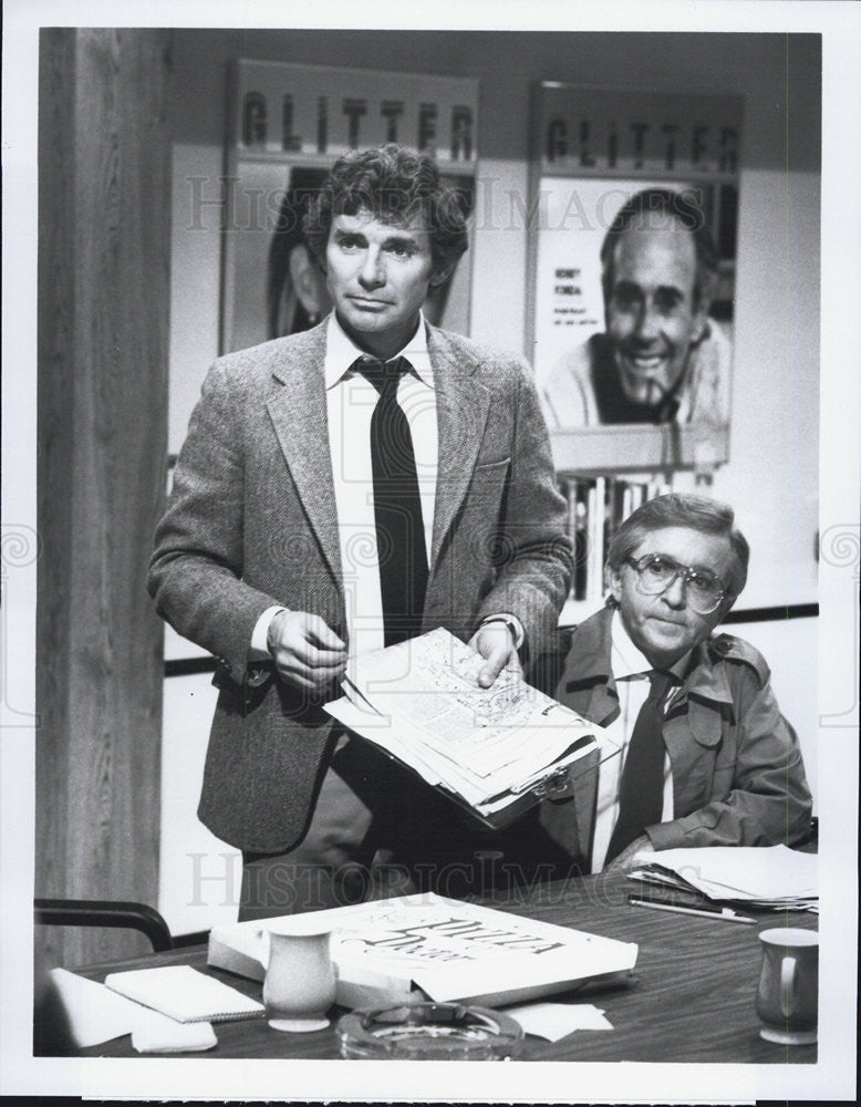 Press Photo David Birney Arte Johnson GLITTER - Historic Images