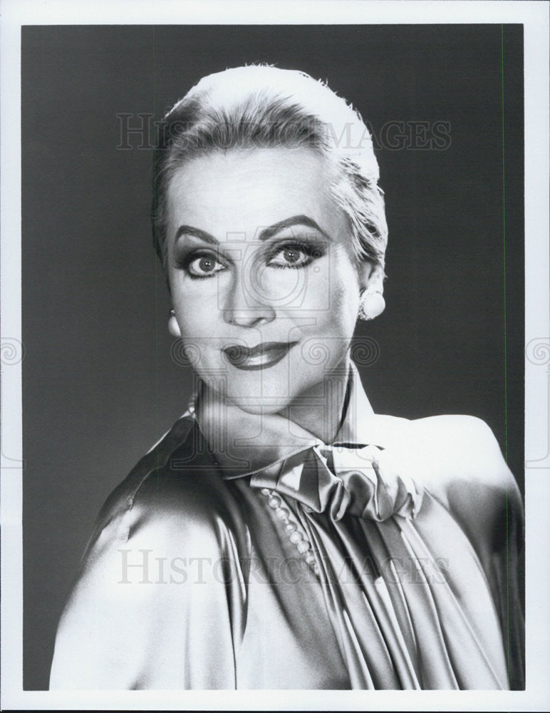 Press Photo Anne Jeffreys Finder of Lost Love Special Movie ABC Actress - Historic Images