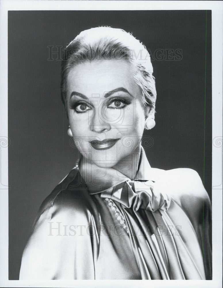 Press Photo Actress Anne Jeffreys - Historic Images