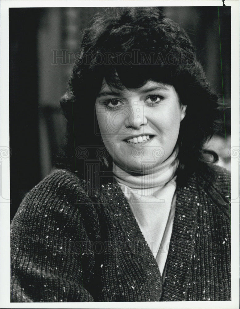 1986 Press Photo Actress Rosie O' Donnell in NBC Series Gimme A Break - Historic Images
