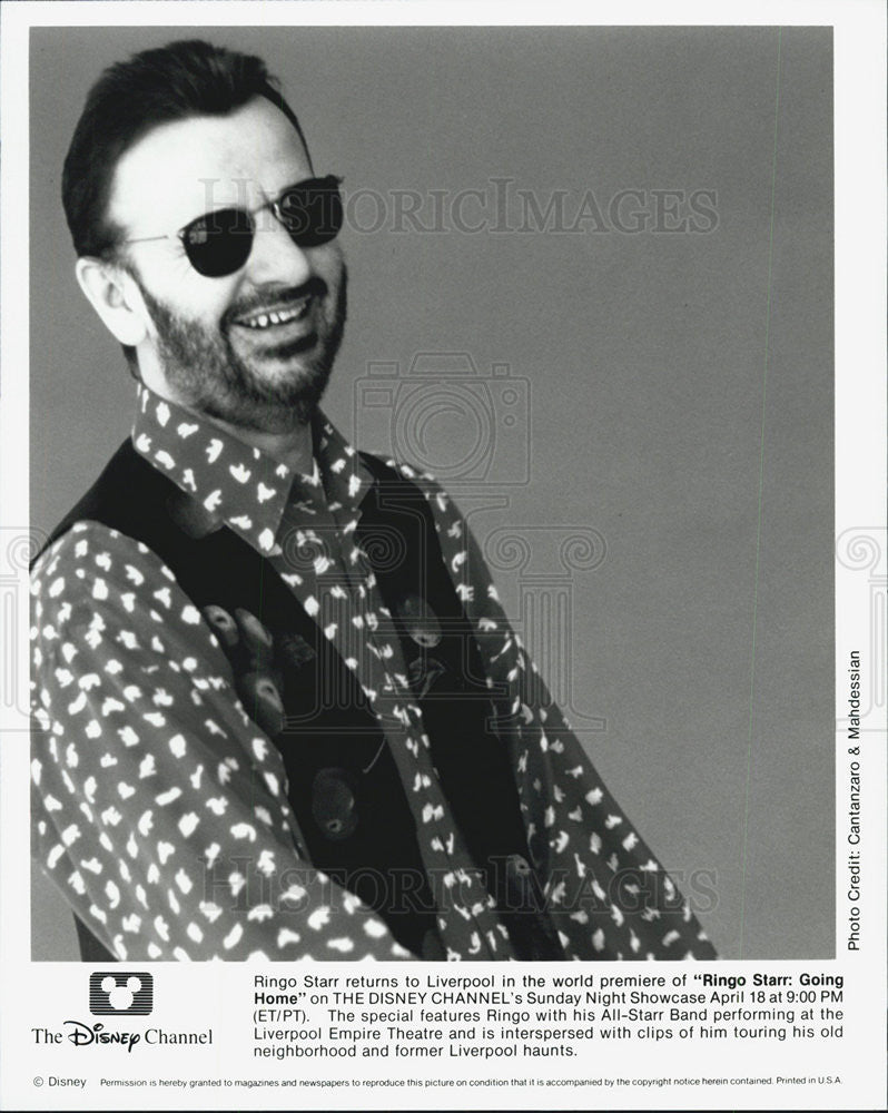 1993 Press Photo Ringo Star Going Home - Historic Images