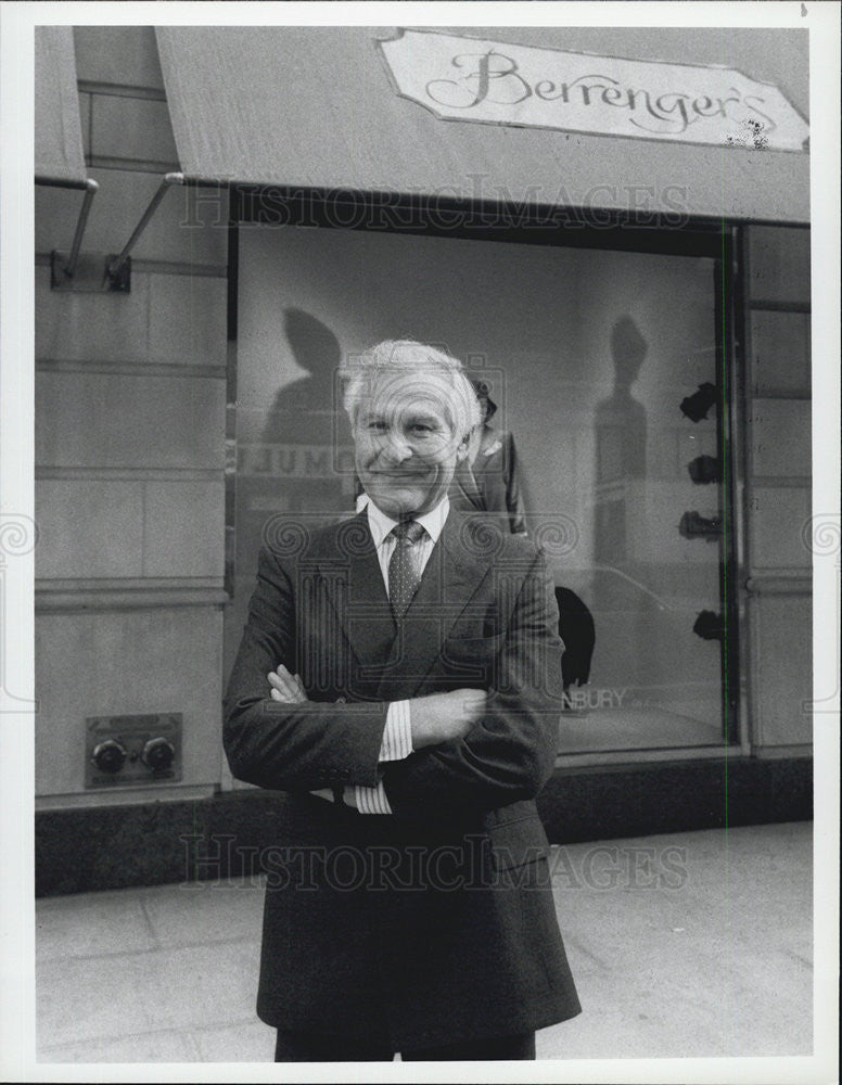 1984 Press Photo of Sam Wanamaker an American film director and actor. - Historic Images