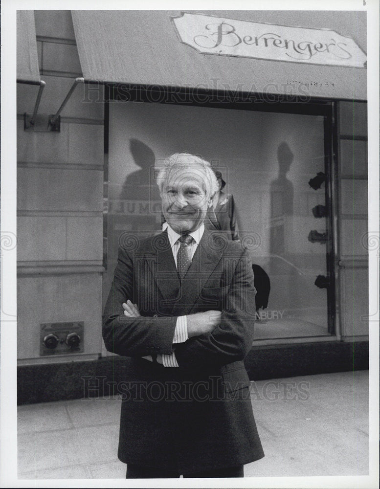 1985 Press Photo Actor Sam Wanamaker - Historic Images