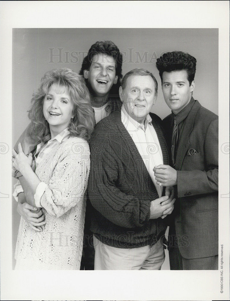 "1990 Press Photo Cast of ""Lenny"" - Historic Images"