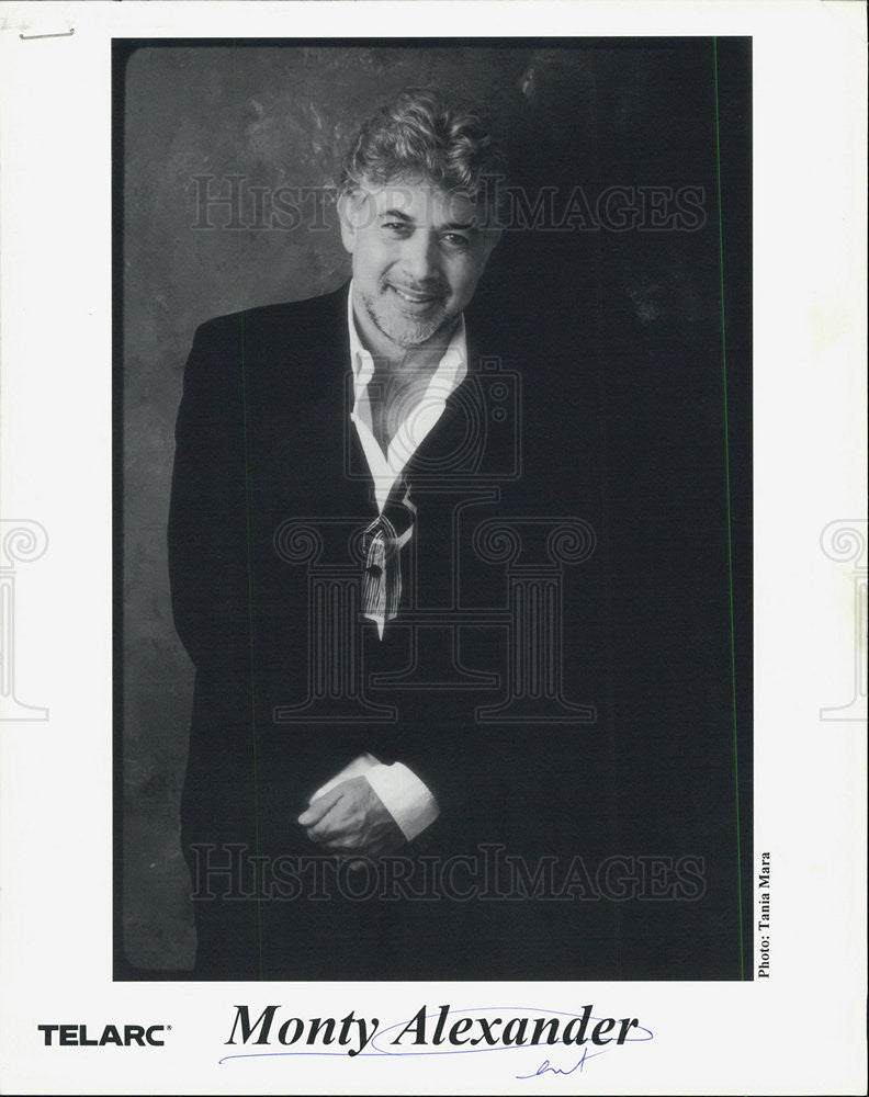 Press Photo Monty Alexander - Historic Images