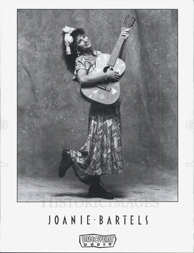 1994 Press Photo of Joanie Bartels, is an American children's singer. - Historic Images