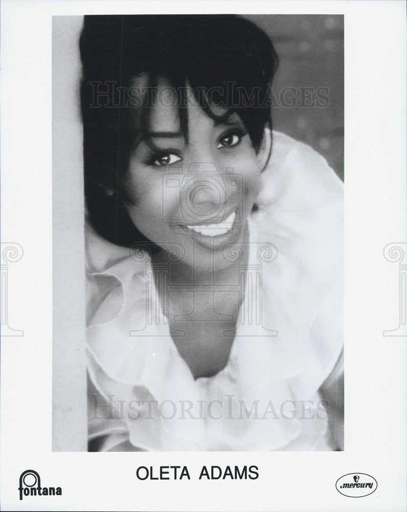 1994 Press Photo Oleta Adams American soul, jazz, and gospel singer and pianist - Historic Images