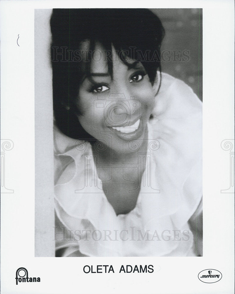 1993 Press Photo Oleta Adams - Historic Images