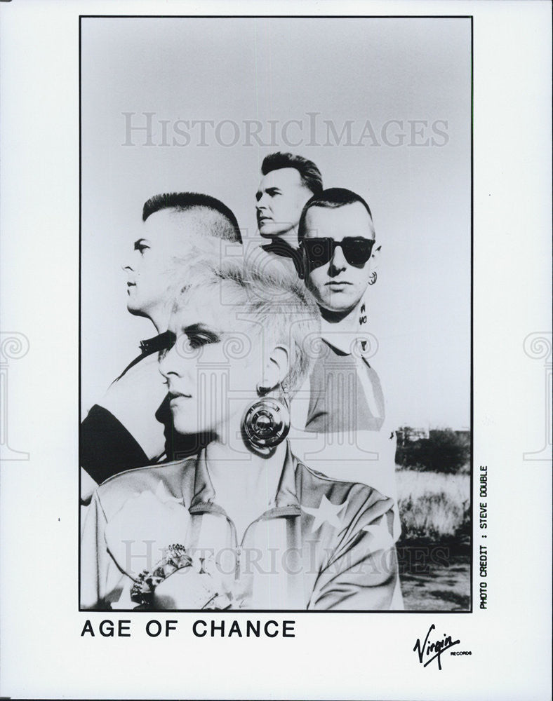 1989 Press Photo Age of Chance - Historic Images