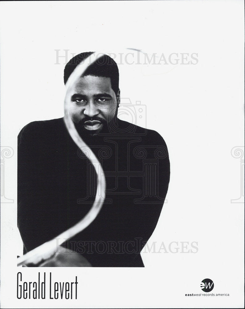1995 Press Photo Gerald Levert - Historic Images