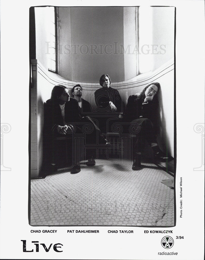 1994 Press Photo Rock Band Live York Radioactive Chad Gracey Pat Dahlheimer - Historic Images