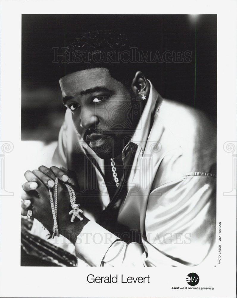 2002 Press Photo Gerald Levert - Historic Images
