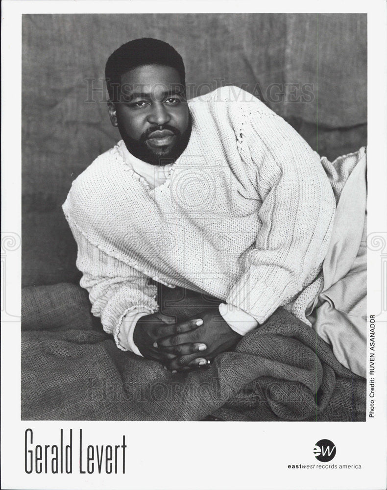 Press Photo Gerald Levert - Historic Images